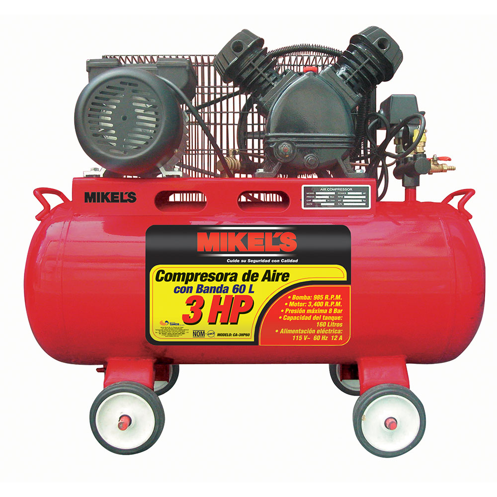 Compresor de aire 3 hp mikels mexico mikels - Compresor de aire precio ...