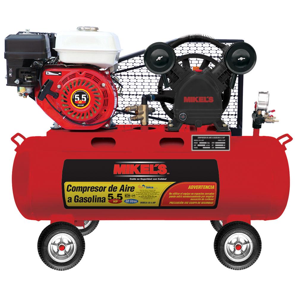 Compresor motor a gasolina 5 5 hp mikels mexico mikels - Precio de compresores de aire ...