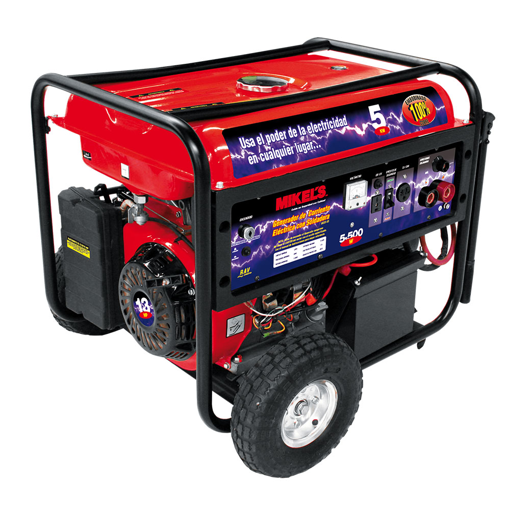 Generador de 5500 watts con soldadora mikels mexico mikels - Generadores de corriente ...