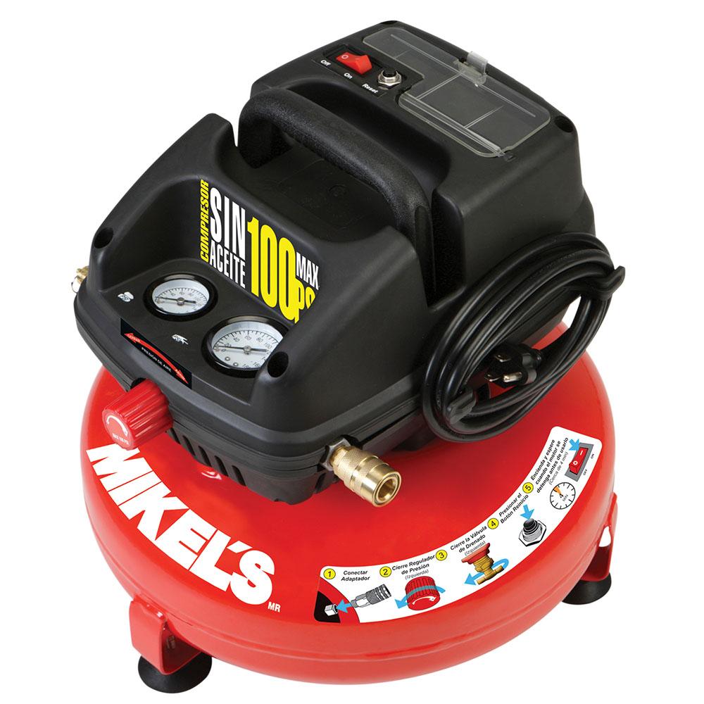 Compresor de aire 1 2hp libre de aceite 3 galones tipo for Compresor hidroneumatico