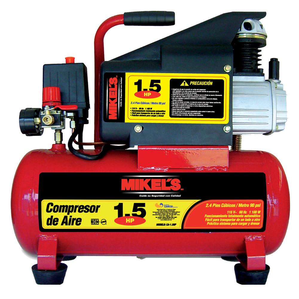 Compresor de aire 1 5 hp con 19 acc neumaticos mikels for Compresor hidroneumatico