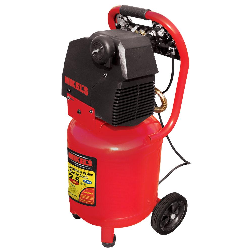 Compresor libre de acite 2 5 hp mikels mexico mikels for Compresor hidroneumatico