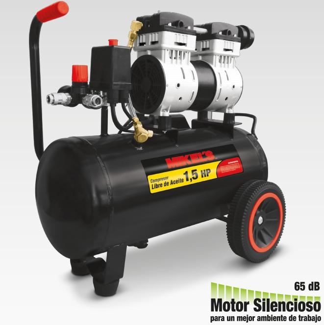 Compresor libre de aceite mikels mexico mikels for Compresor hidroneumatico