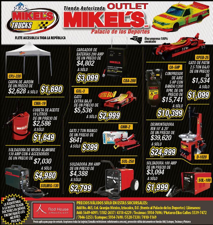 promociones mikels