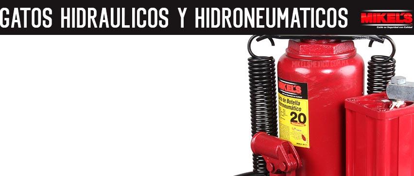 Gatos hidráulicos y Hidroneumáticos